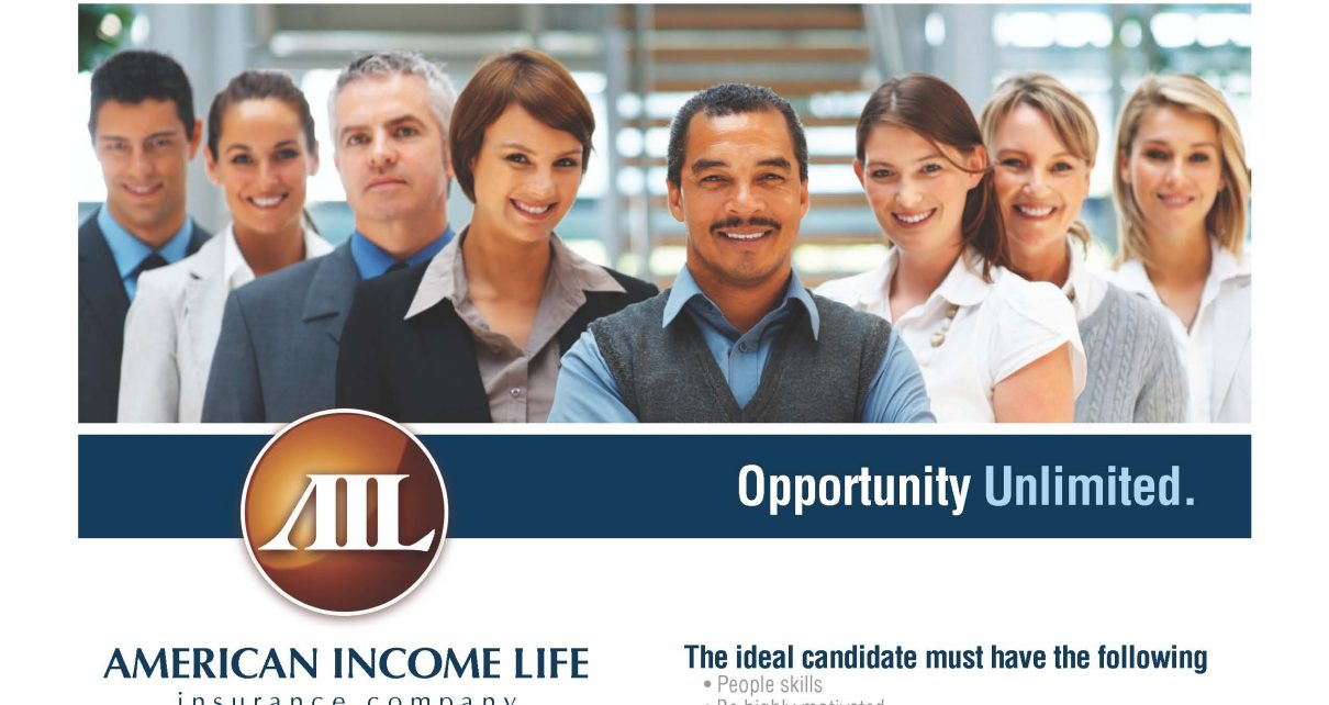 what is american income life insurance company job