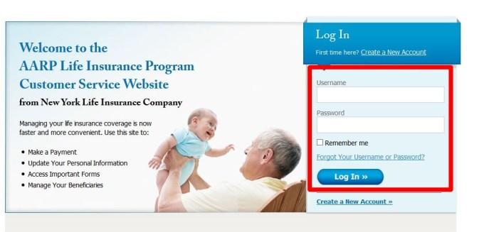 aarp life insurance login photo - 1