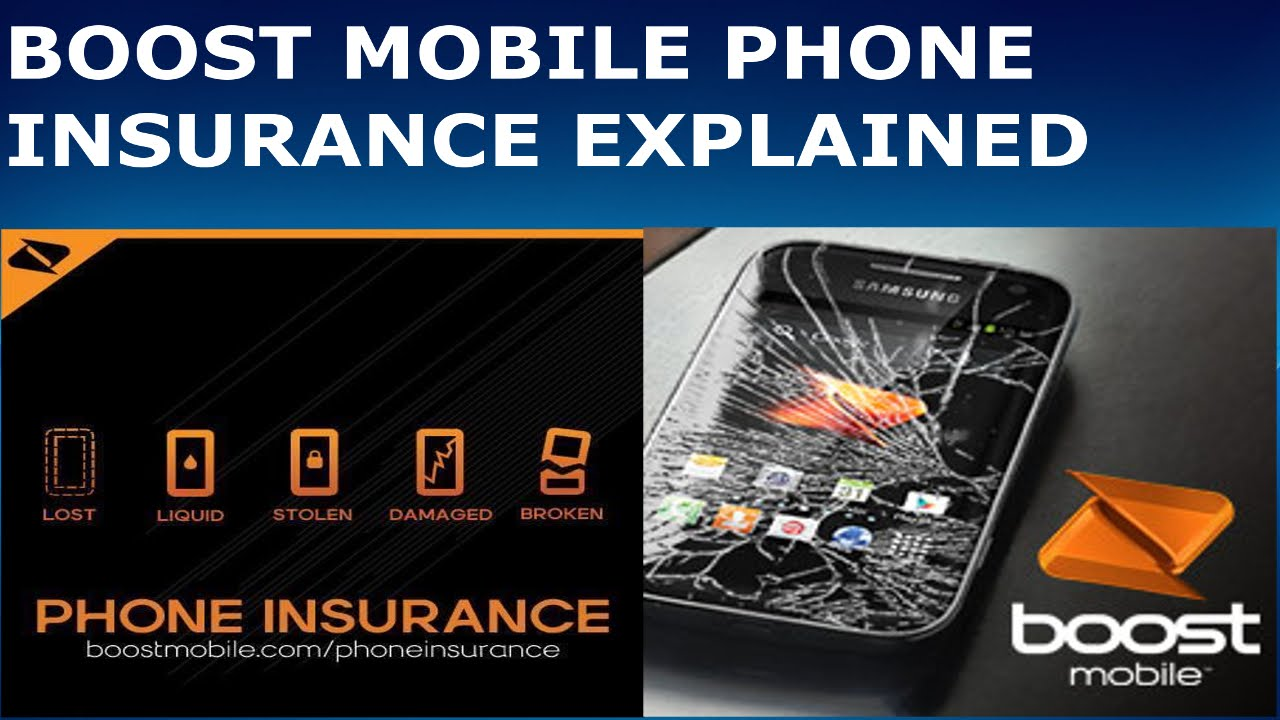 boost mobile phone insurance photo - 1