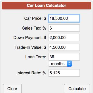 car insurance payment calculator photo - 1