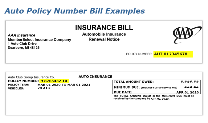 car insurance policy number lookup photo - 1