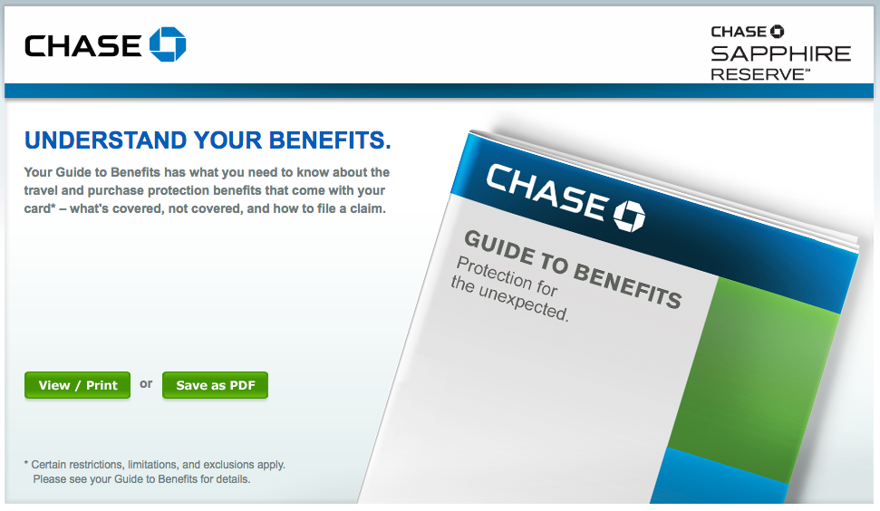 chase sapphire reserve travel insurance photo - 1