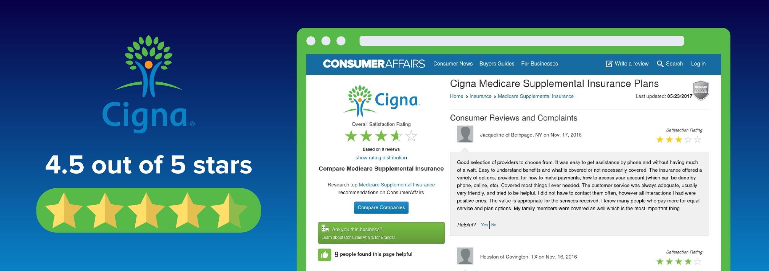 cigna insurance reviews photo - 1