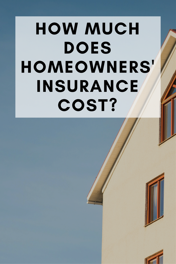 cost of homeowners insurance photo - 1