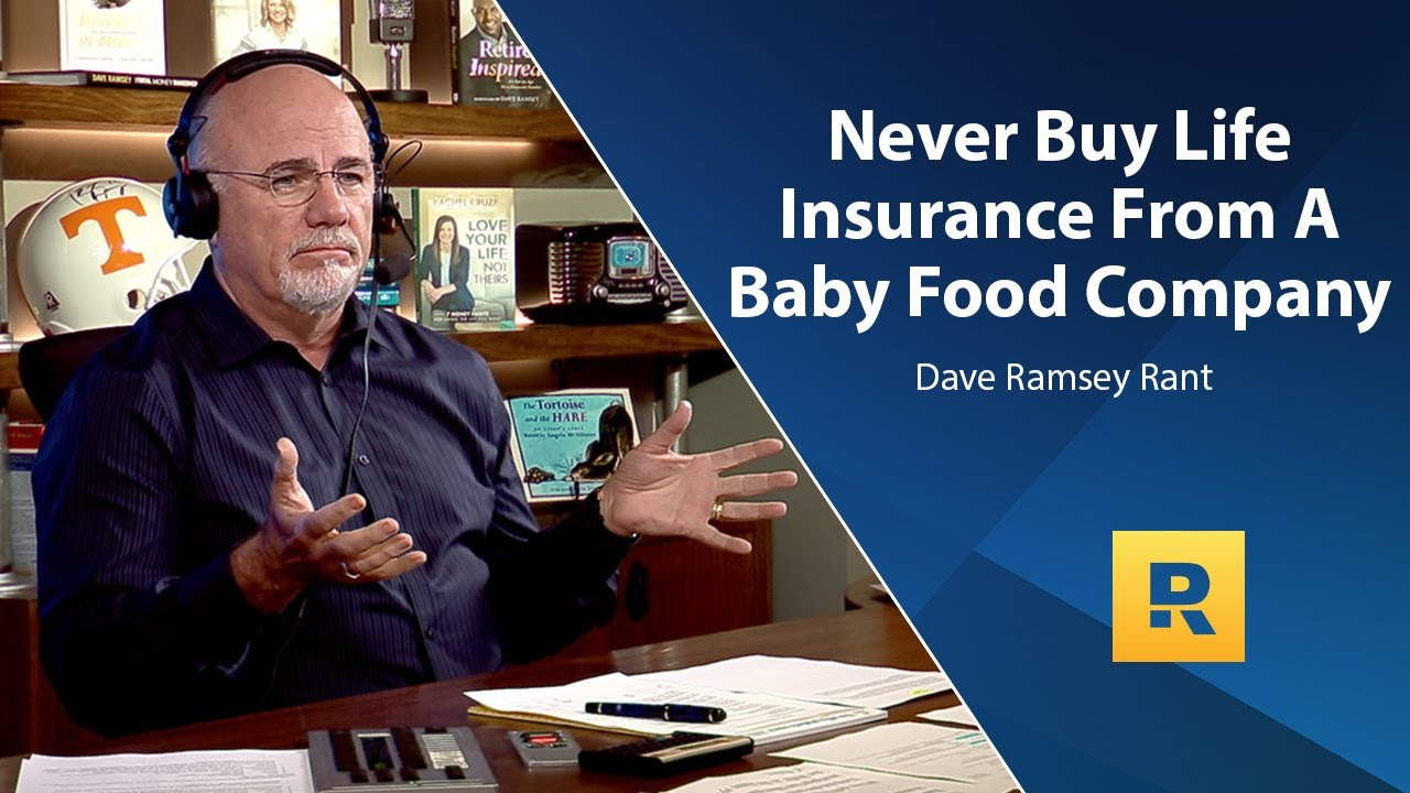 dave ramsey on life insurance photo - 1