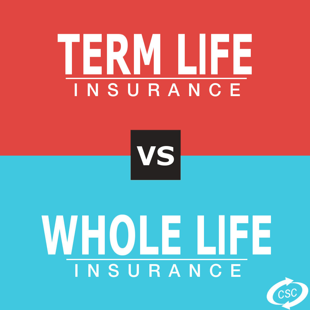 difference between term and whole life insurance photo - 1