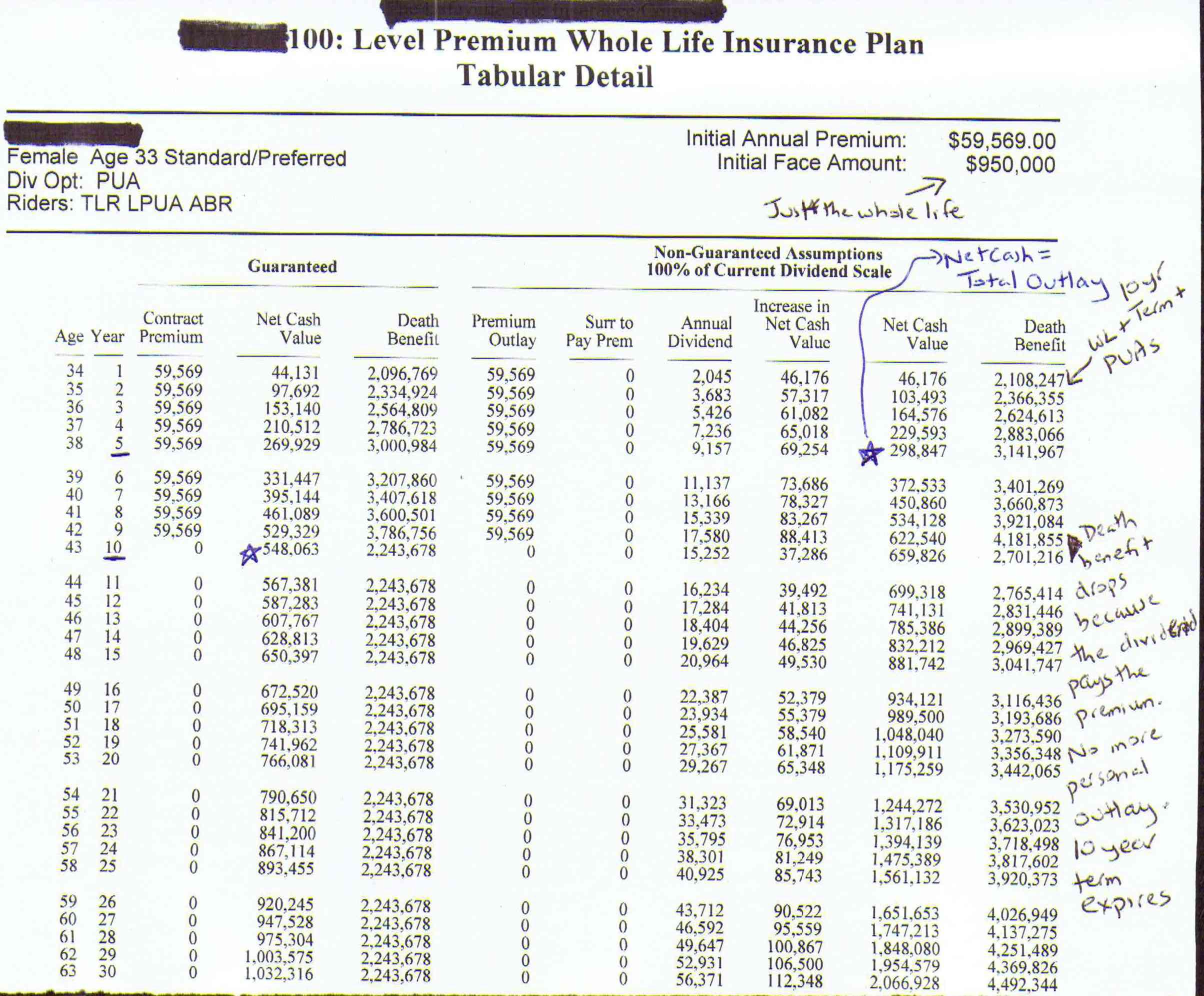 dividend paying whole life insurance photo - 1