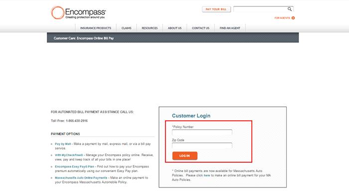 encompass insurance login photo - 1