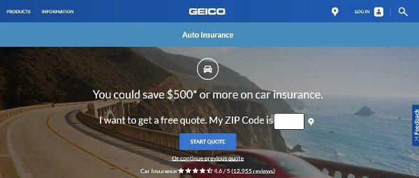 geico auto insurance reviews photo - 1