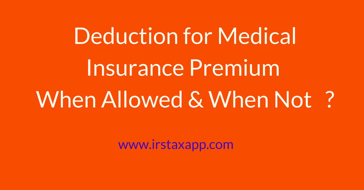 health insurance premiums tax deductible photo - 1