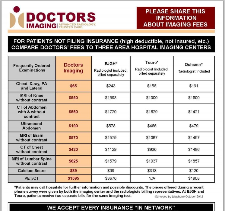 how much does an mri cost with insurance photo - 1
