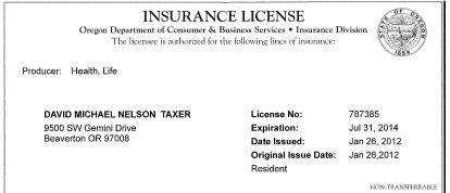 insurance producer license photo - 1