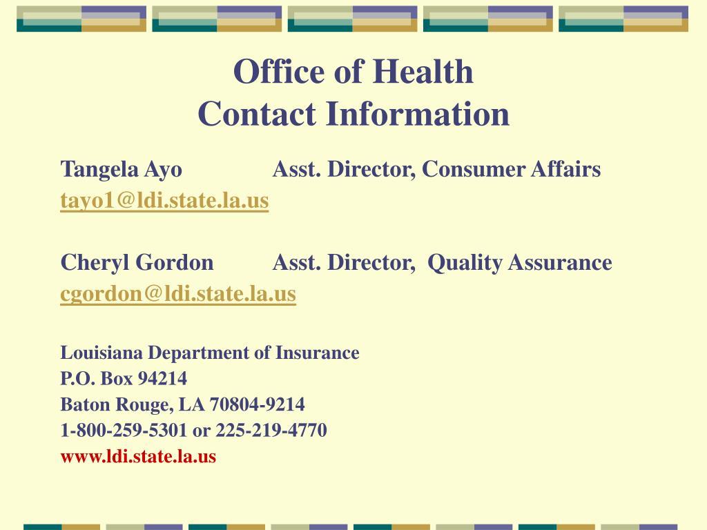 la department of insurance photo - 1