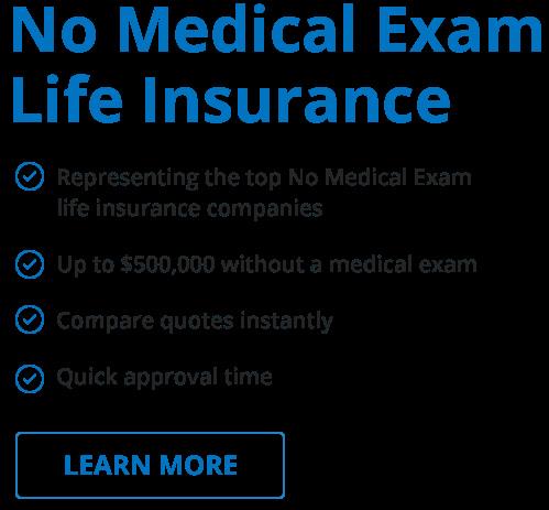 life insurance quotes no medical exams photo - 1