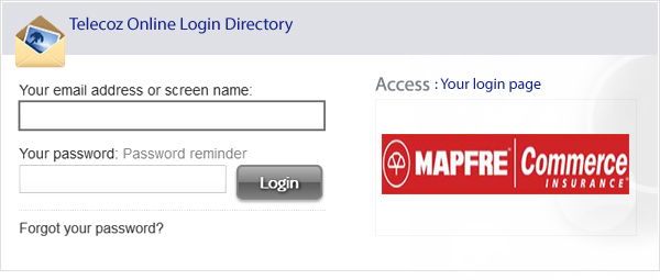 mapfre commerce insurance login photo - 1