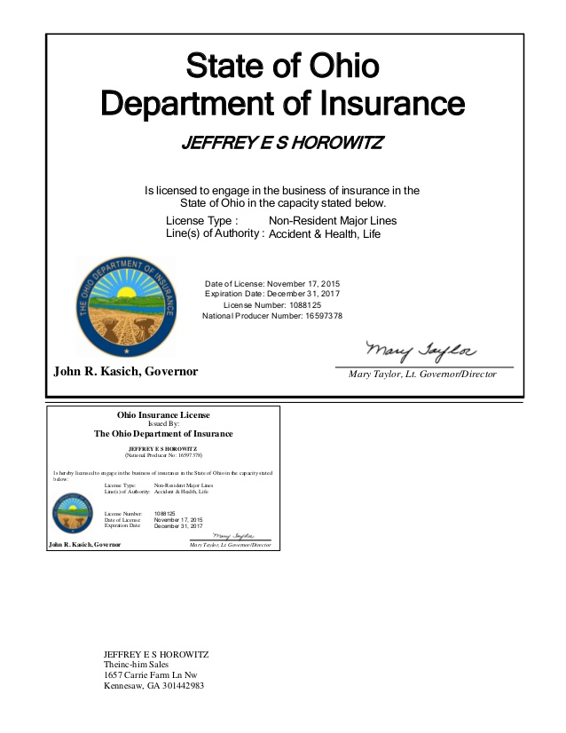 ohio insurance licensing photo - 1