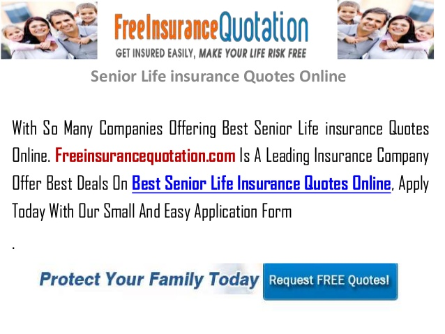 senior life insurance quotes photo - 1