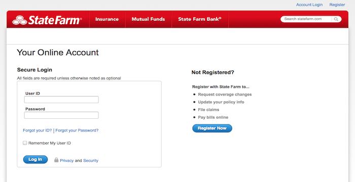 state farm auto insurance login photo - 1