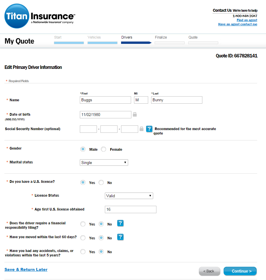 titan auto insurance quotes photo - 1