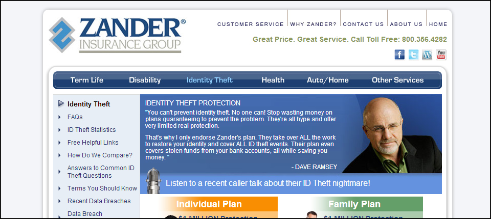 zander insurance identity theft photo - 1